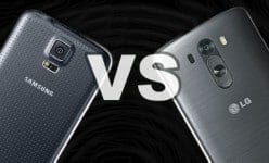 LG G3 VS Galaxy S5 in Philippines