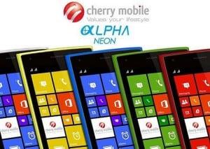 [MWC] Cherry Mobile Alpha Neon: Price, Specs, Press Pic