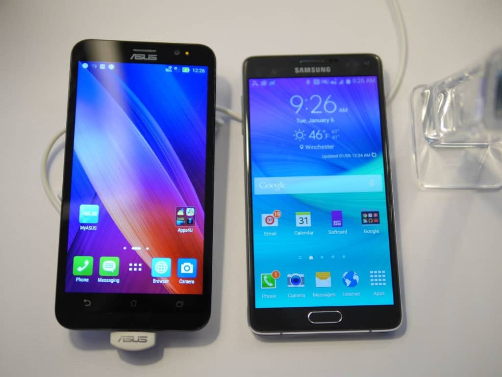 Comparison Asus Zenfone 2 Vs Other Flagship Phones