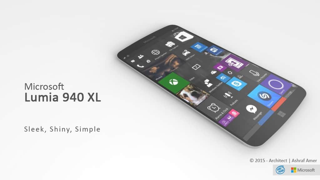 MicrosoftLumia940XLImaginedwithWindows10andIntelQuadCoreProcessor4794263