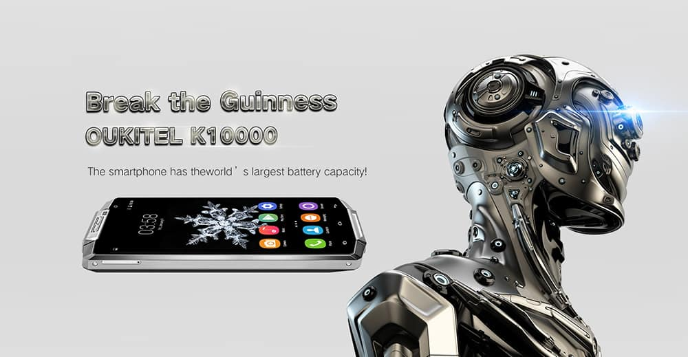 Oukitel K10000: first smartphone with 10000 mAH battery ...