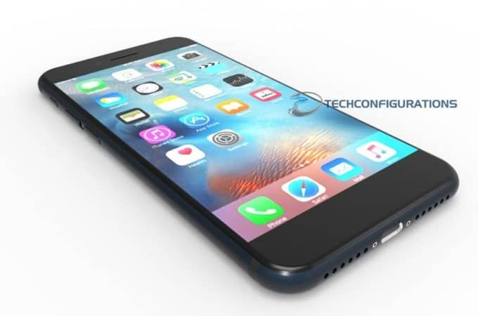 iPhone 7 design with NO physical home button - Price Pony