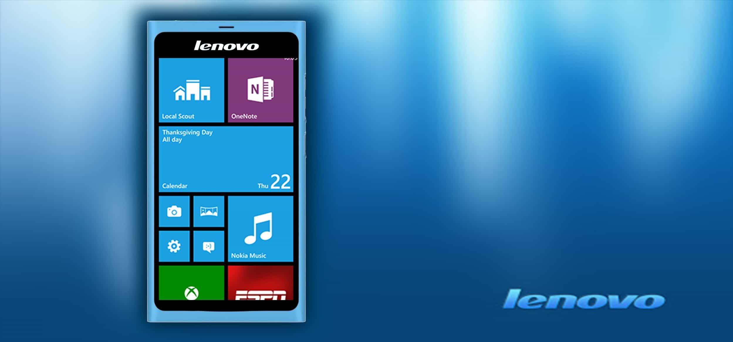 Lenovo Luncurkan Smartphone Windows Pertamanya