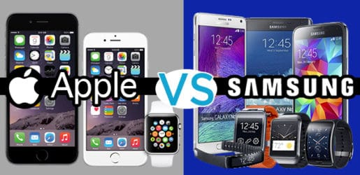 samsung vs apple hihi