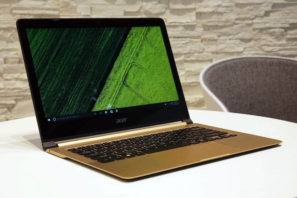Acer Swift 7 The World S Slimmest Laptop With 8gb Ram