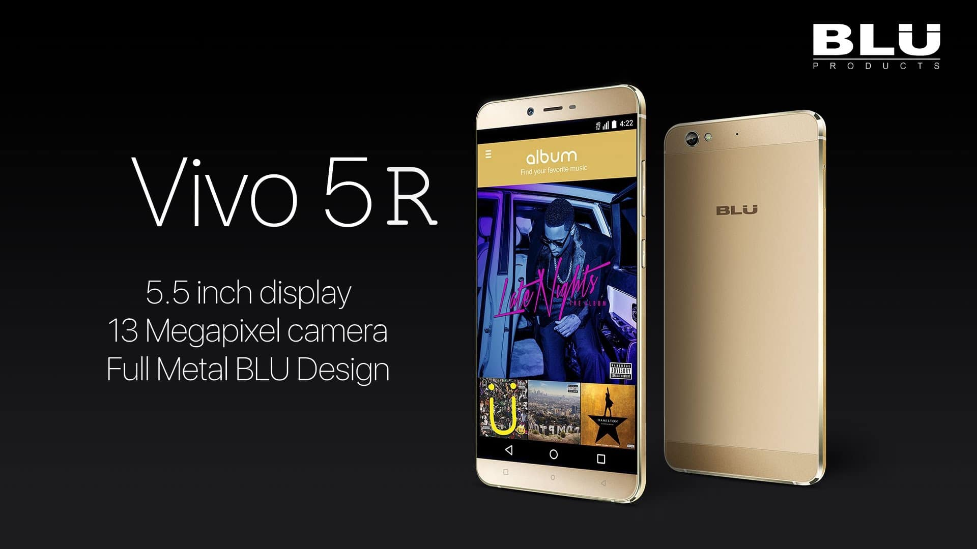 BLU vivo 5R announced
