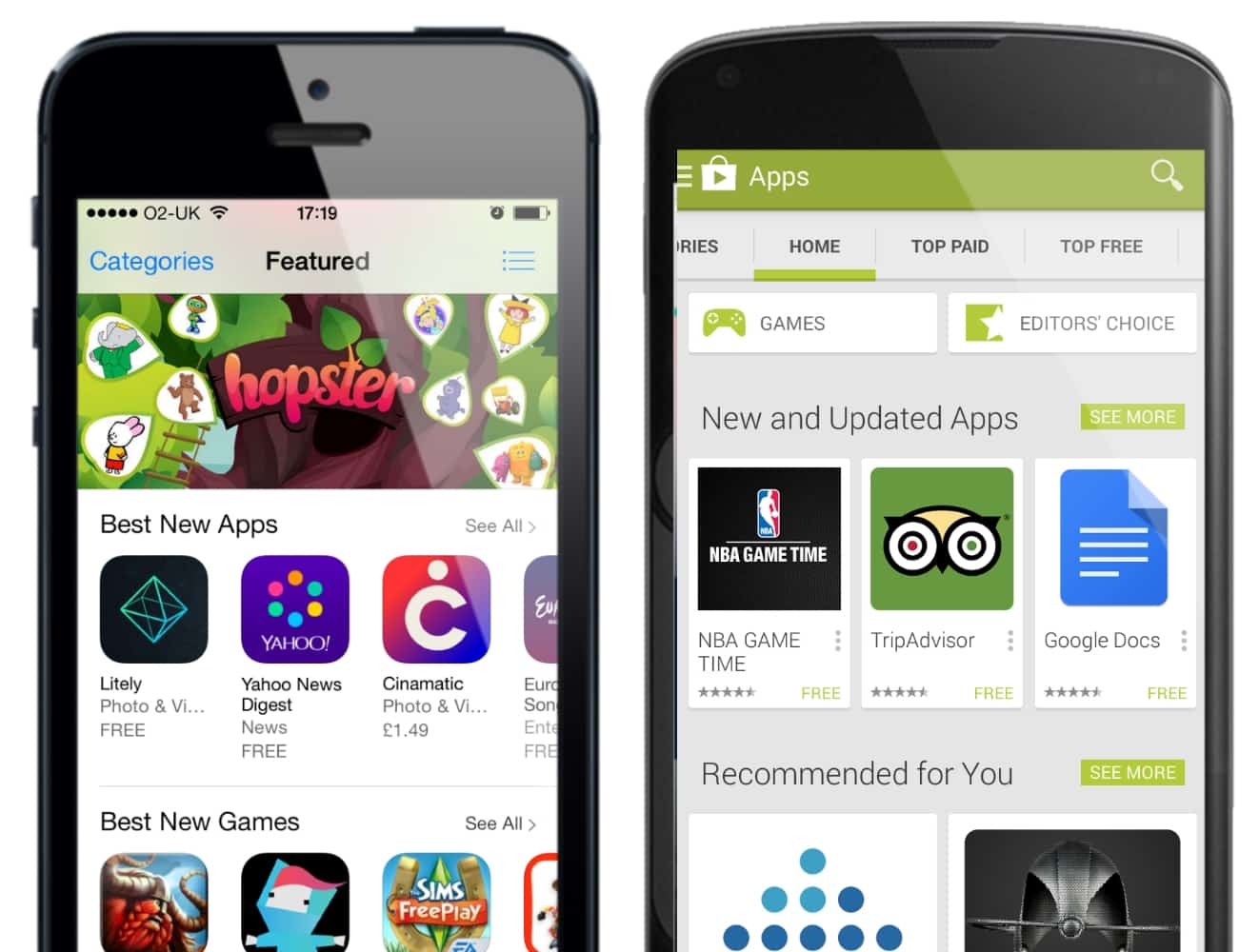 new best apps google play app store