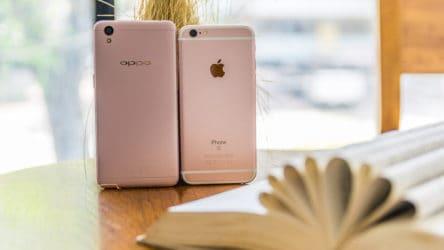 apple vs oppo hihi