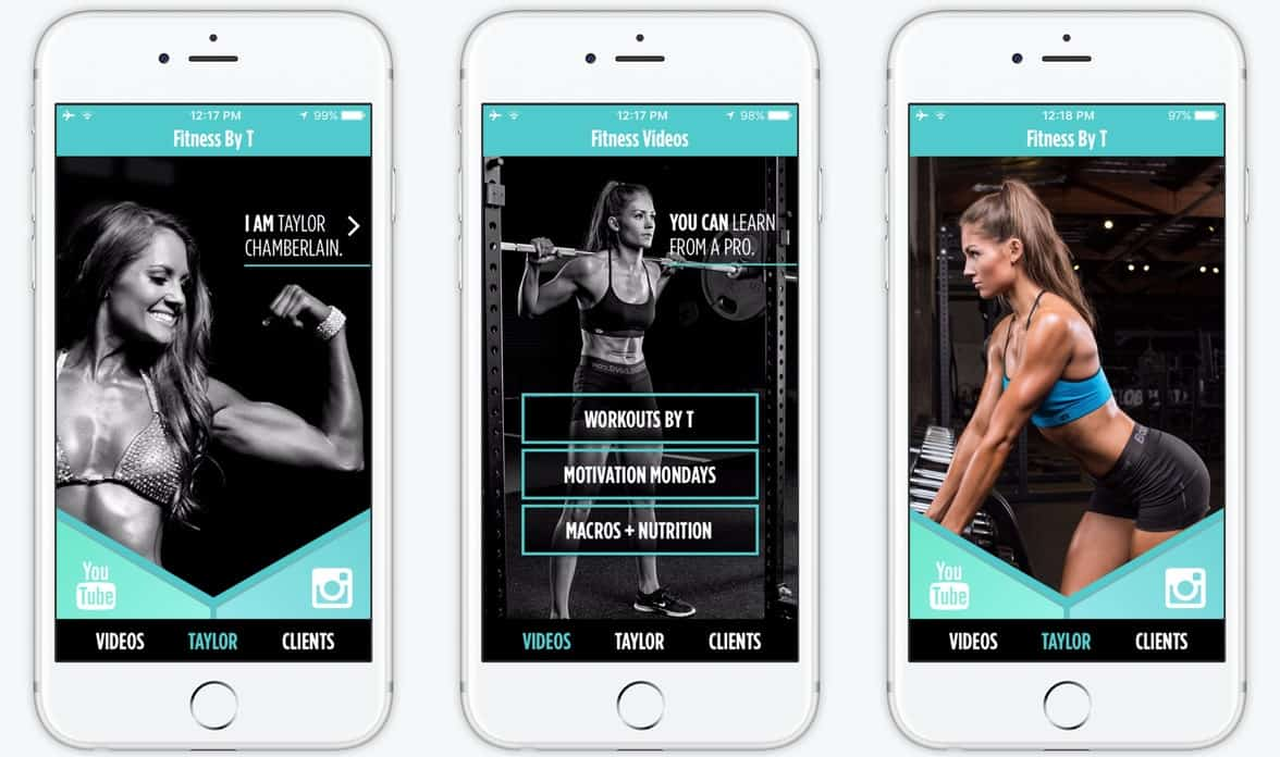 new best apps fitness by T