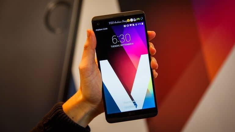 LG V20 tips