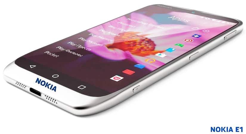 Nokia E1 vs Samsung Galaxy A5 2017