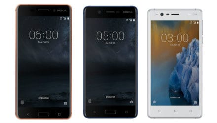 Nokia 3, 5, 6 and 3310 available for pre-order