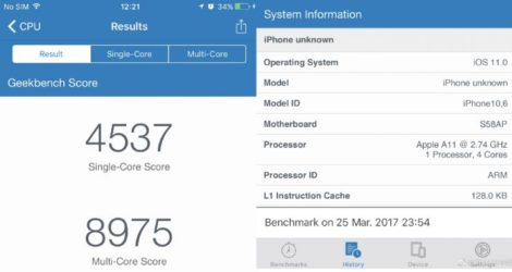 iPhone 8 benchmark