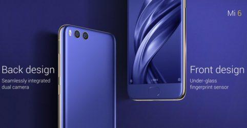 Xiaomi Mi 6 smartphone