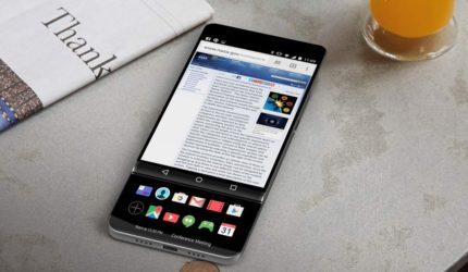 New LG V30 flagship