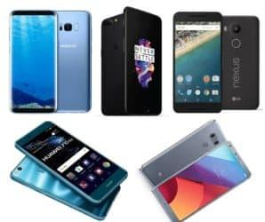 Top 5 shocking price flagships