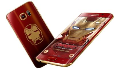 Samsung Galaxy S8 Iron Man