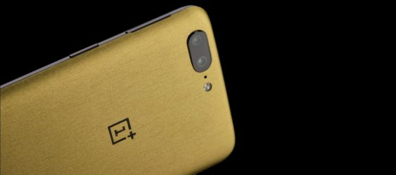 OnePlus 5 Gold color