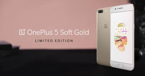 OnePlus 5 Soft Gold: 8GB RAM, Dual 20MP, August...