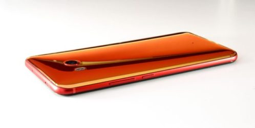 New Red HTC U11 smartphone