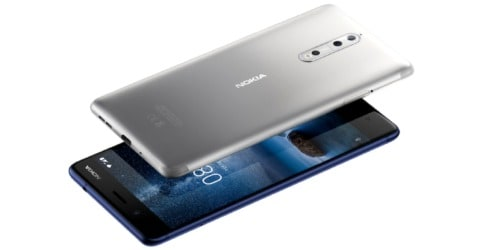 Nokia 8 Speed Test
