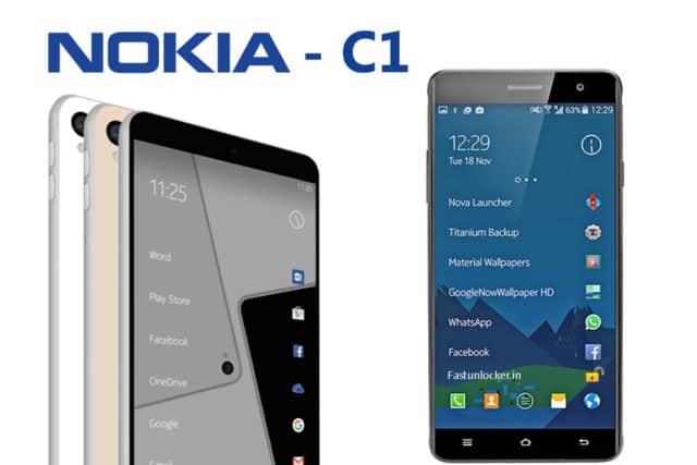 Nokia C1 vs