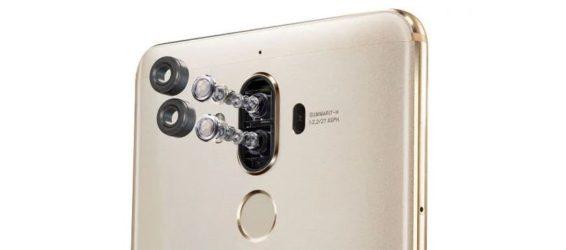 Best 2017 four cameras smartphones