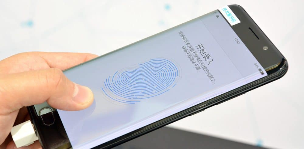 The first phone with clear id fingerprint scanner arrives at ces 2018 altavistaventures Gallery