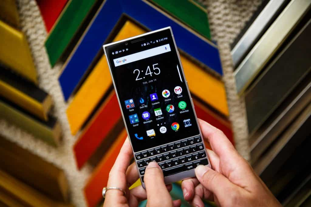 Blackberry Key2 With Dual Cam Android Oreo To Begin Pre