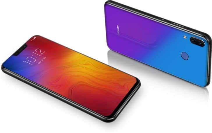 Samsung Galaxy Note 9 vs Lenovo Z5