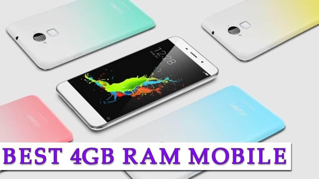 Best 4GB RAM mobile phones in India