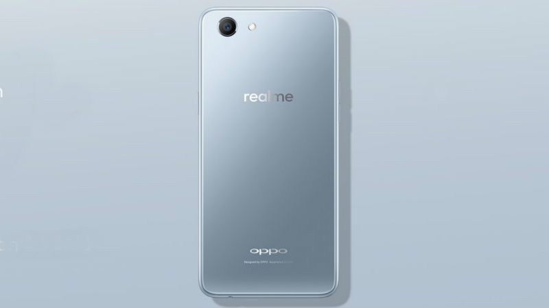 OPPO Realme 1 Moonlight Silver