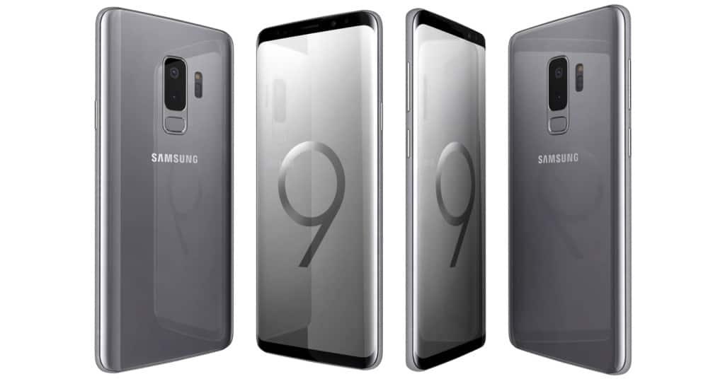 samsung galaxy s9 and s9 plus titanium grey 256gb rom. Black Bedroom Furniture Sets. Home Design Ideas