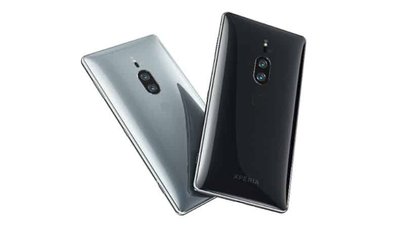 Sony Xperia XZ3 live images
