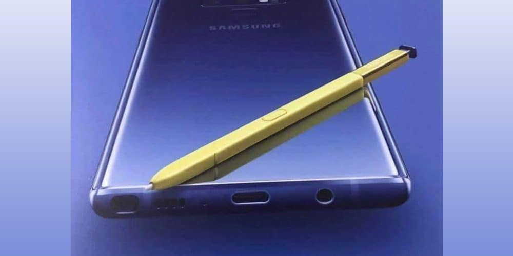 Samsung Galaxy Note 9 promotional poster