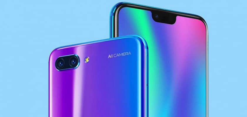 Huawei Honor Note 10 vs ZTE Axon 9