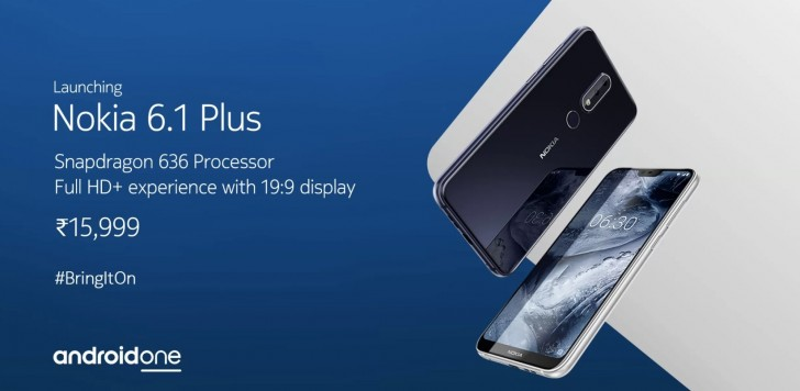 Nokia 6.1 Plus sale