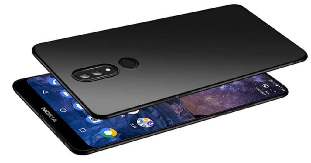 Nokia X7 live images