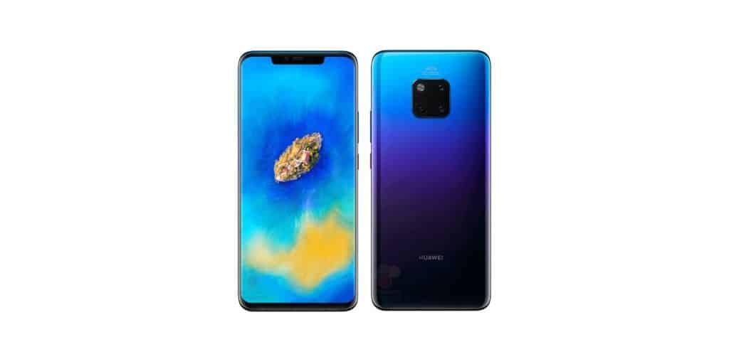 Huawei Mate 20 Aurora Blue