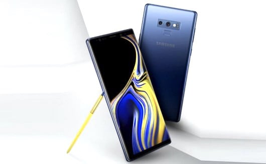 Samsung Galaxy Note 9 vs Huawei Mate 20X