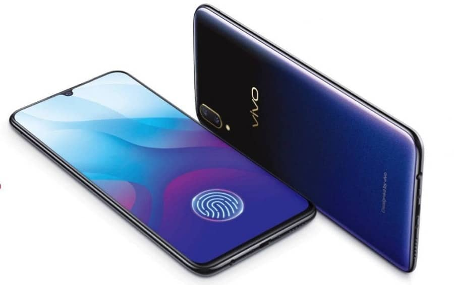 Vivo Y95 box appeared online: notch screen, dual cameras and