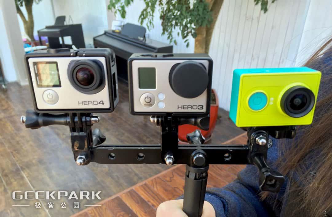 Xiaomi Yi Action Camera Amp Go Pro Hero In Comparison