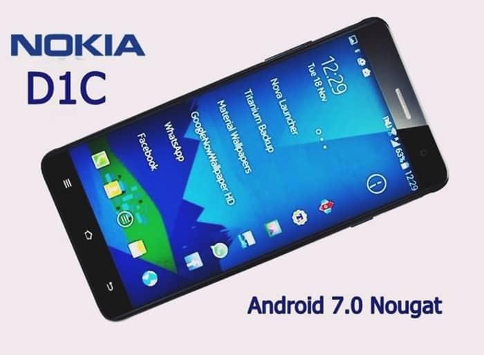 Nokia D1C vs Lenovo K6