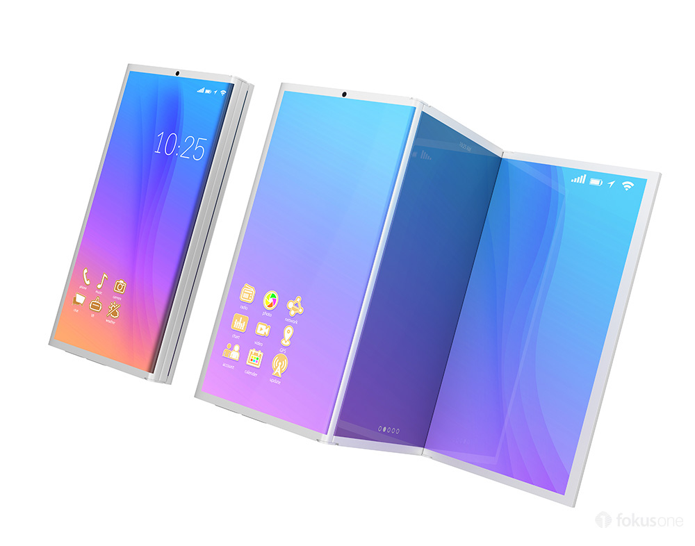 Samsung foldable smartphone leaked