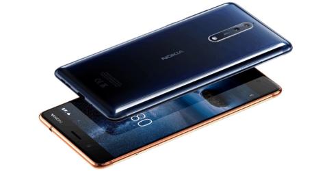 Nokia 8 Speed Test