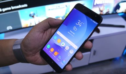 Samsung Galaxy J7 Plus smartphone