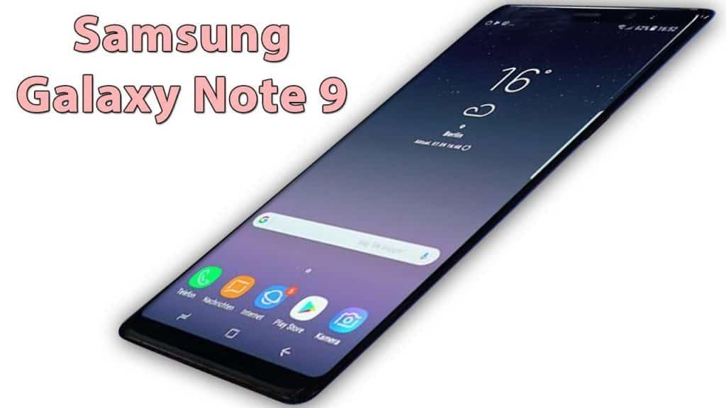 samsung galaxy note 9 new trailer 8gb ram 4k display and