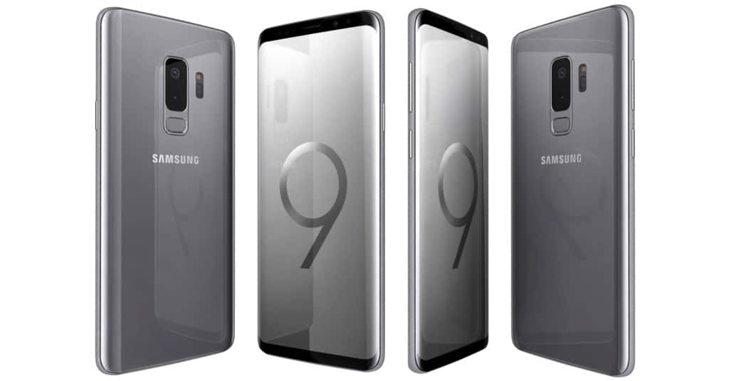 samsung galaxy s9 and s9 plus titanium grey 256gb rom. Black Bedroom Furniture Sets. Home Design Ideas