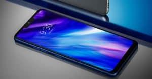 LG V40 handset