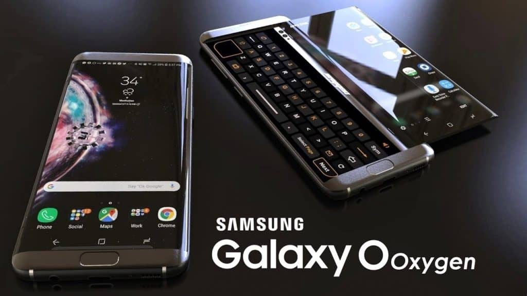 Samsung Galaxy O Oxygen With Sliding Screen Qwerty Keyboard